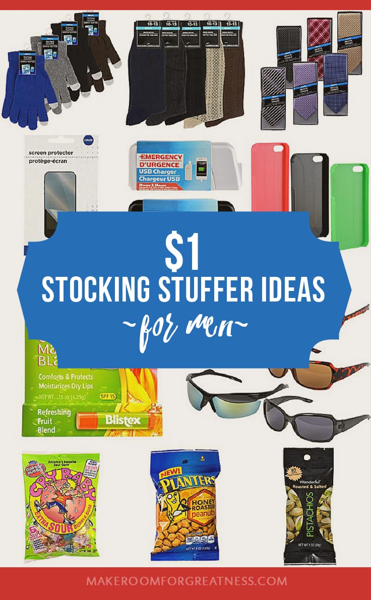 $1 Stocking Stuffer Ideas for Men